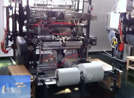 纱布片折叠机